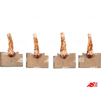 Щётки стартера AS BSX206-207
