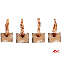 Щётки стартера AS BSX210-211