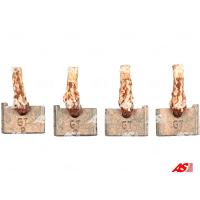 Щётки стартера AS BSX214-215