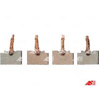 Щётки стартера AS BSX216-217